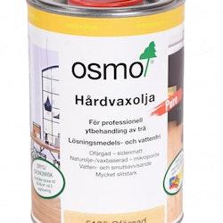 Osmo Hårdvaxolja lösningsm.fri 5125 Ofärgad sidenmatt 1 L