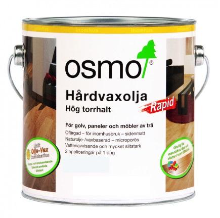 Osmo Hårdvaxolja Rapid 3232 [DG] Ofärgad sidenmatt 25 L