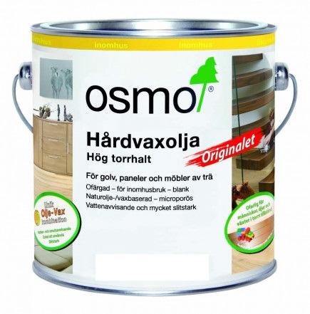 Osmo Hårdvaxolja Originalet 3065 Ofärgad halvmatt 10 L