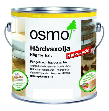 Osmo Hårdvaxolja Halkskydd R11 3089 Ofärgad sidenmatt 2,5 L
