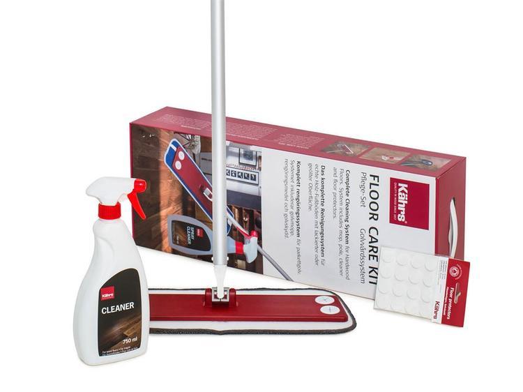 Kährs Underhållskit  Inkl Mopp, Cleaner, Golvskydd 710526