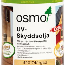 Osmo UV-Skyddsolja Extra 420 Ofärgad sidenmatt 0,75 L