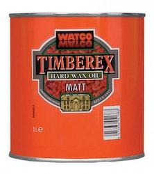 Timberex Hard Wax Oil Satin Ofärgad sidenmatt 1 L