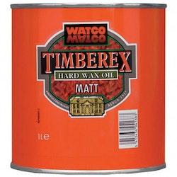 Timberex Hard Wax Oil Satin Ofärgad sidenmatt 0,2 L