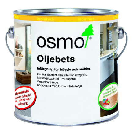 Osmo Oljebets 3514 Grafit sidenmatt 1 L