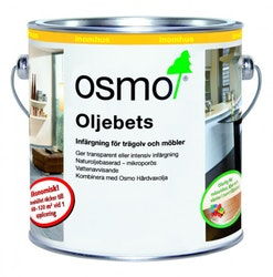 Osmo Oljebets 3590 Svart sidenmatt 0,5 L