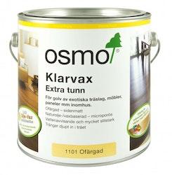 Osmo Klarvax 1101 Ofärgad sidenmatt 2,5 L