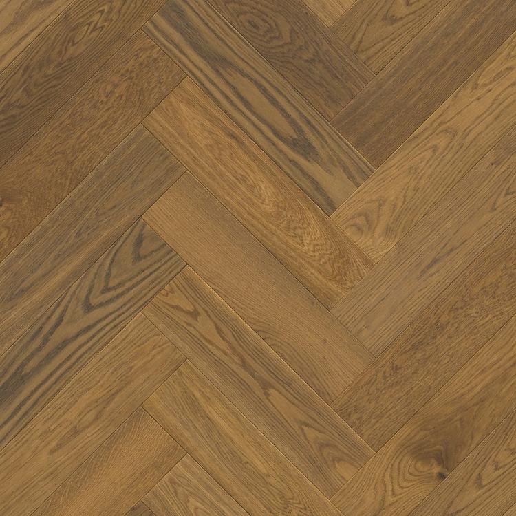 Pergo Saltholm Brown Herringbone Oak  - Parkettgolv