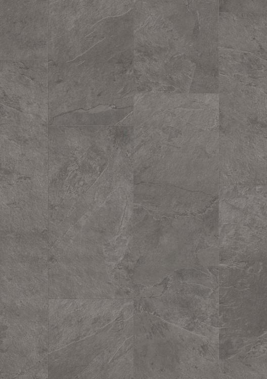 Pergo Tile  Grey Scivaro Slate Premium Click - Vinylgolv