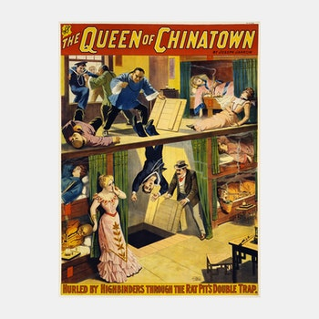 Poster – The Queen of Chinatown – 1899
