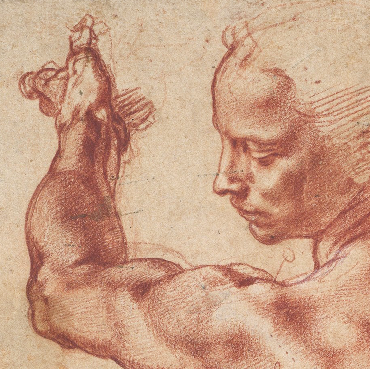 Michelangelo – Studies for the Libyan Sibyl – 1510