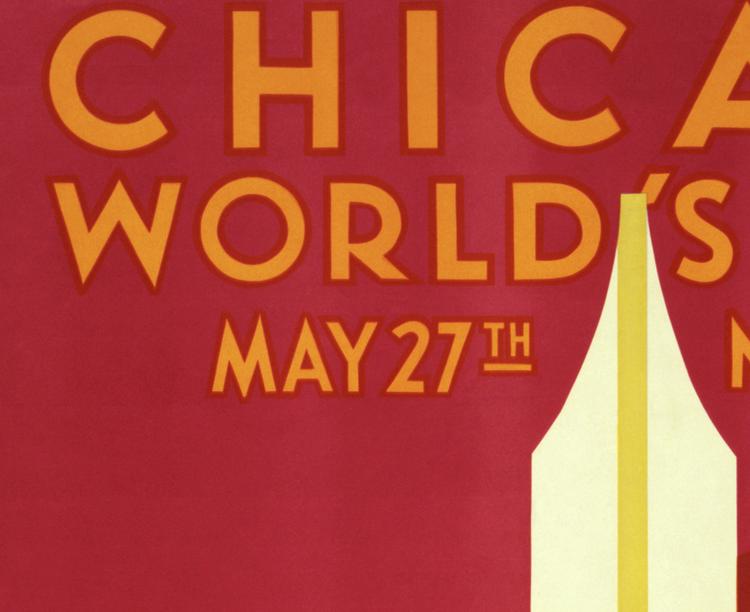 Poster – Chicago World's Fair