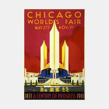 Poster – Världsutställningen Chicago – 1933