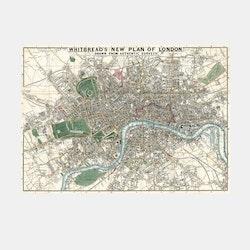 Whitbread's plan of London – 1853