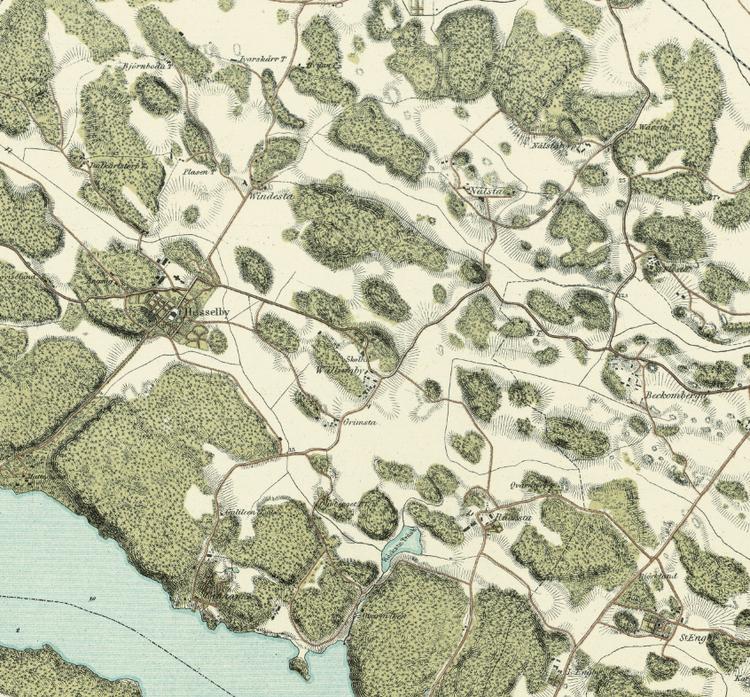 Trakten runt Stockholm, blad 2 – 1861