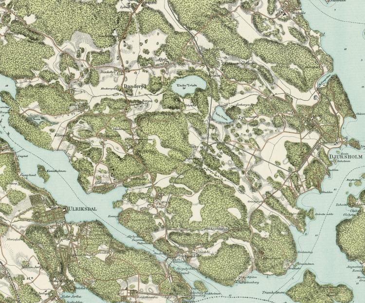 Trakten runt Stockholm, blad 4 – 1861