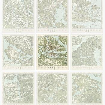 Trakten runt Stockholm, blad 5 – Centrala Stockholm – 1861