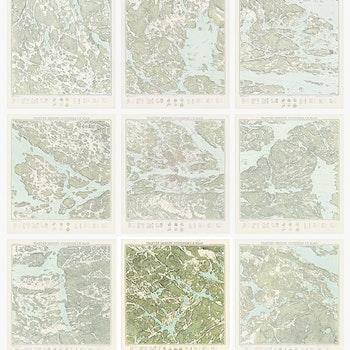 Trakten runt Stockholm, blad 6 – 1861