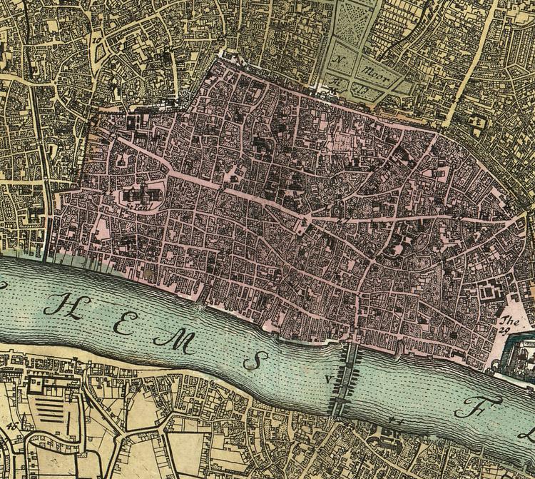 Karta & illustration – London