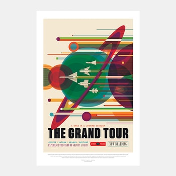 "Poster, NASA, ""The Grand Tour"""