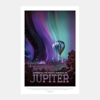 """Poster från NASA, """"Jupiter"""""""