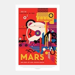 """Poster från NASA, """"Mars"""""""