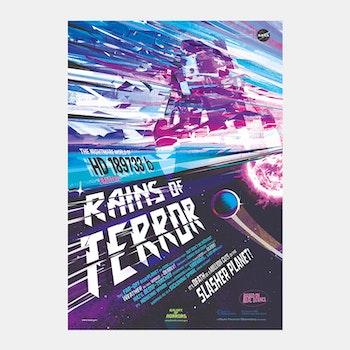 """Poster från NASA, """"Rains of Terror"""""""