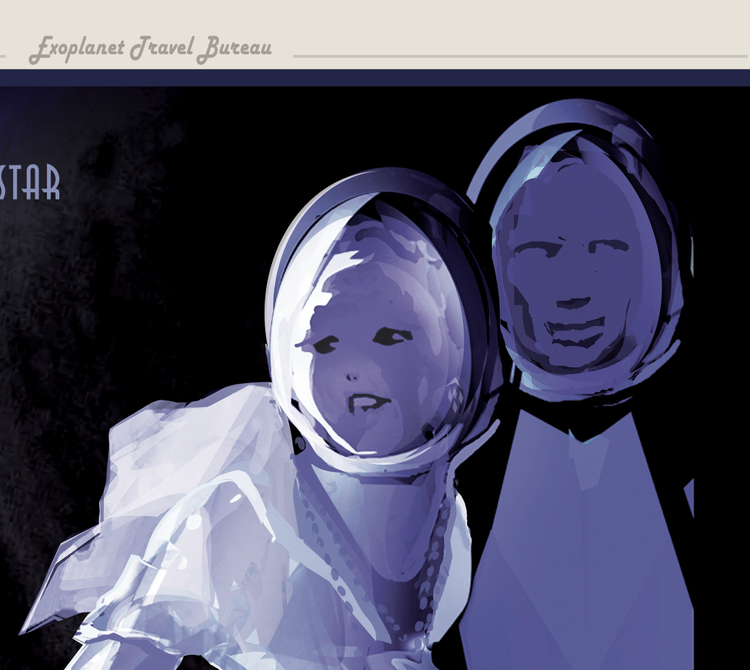 """Poster från NASA, """"PSO J318"""""""