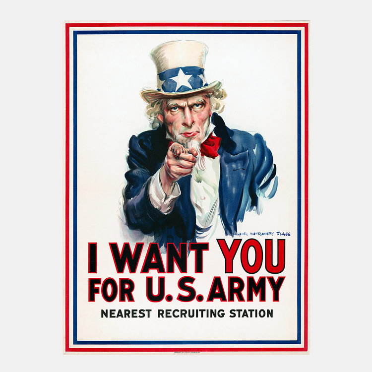 I Want You For U.S. Army – 1917