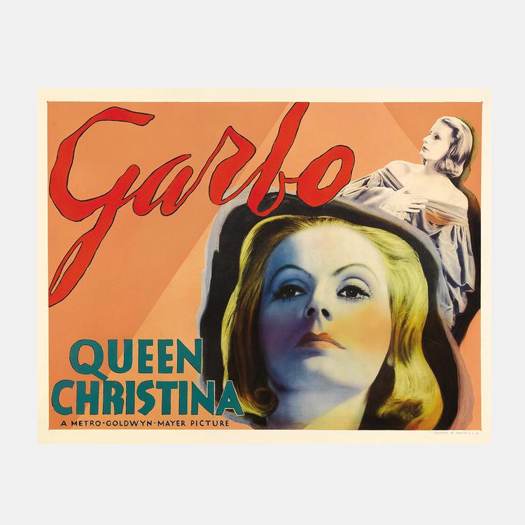Filmposter – Garbo – Queen Christina – 1934