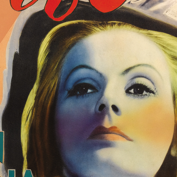Filmposter – Garbo – Queen Christina – 1934