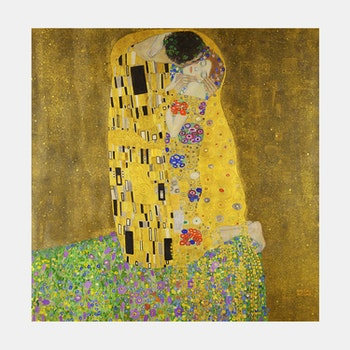 Gustav Klimt – The Kiss – 1907