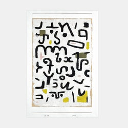 """Paul Klee – """"Gesetz"""" – 1938"""
