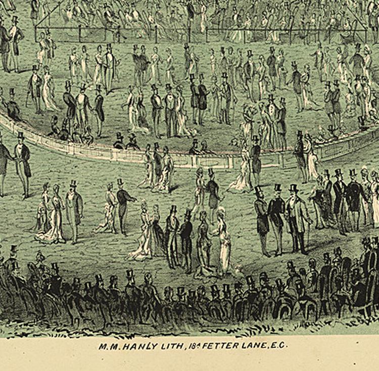 Miniposter – Hengler's Promenade Concerts – 1880