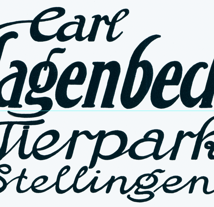 Poster – Carl Hagenbecks Tierpark – 1913