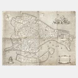 Karta – Venedig – 1729