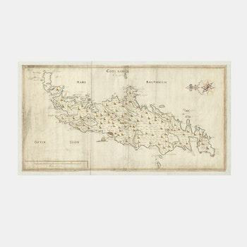 Karta – Gotland – 1700-tal