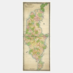 Karta – Gotland – 1717
