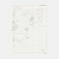 Karta – Värmdö Skeppslag – östra – 1907