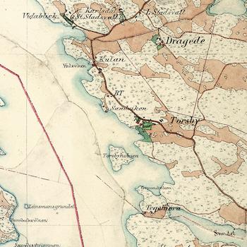 Karta – Gustavsberg – 1901