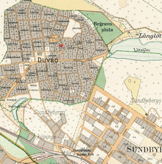 Stockholm med omnejd – Sundbyberg – 1917–1922