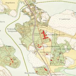 Stockholm med omnejd – Norra Djurgården – 1917–1922