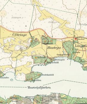 Stockholm med omnejd – Lidingön – 1917–1922