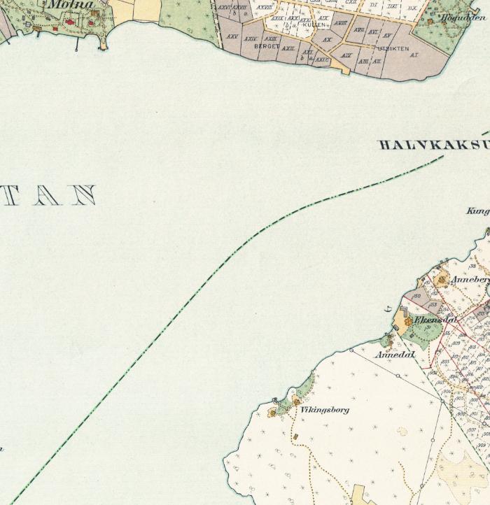 Stockholm med omnejd – Blockhusudden – 1917–1922