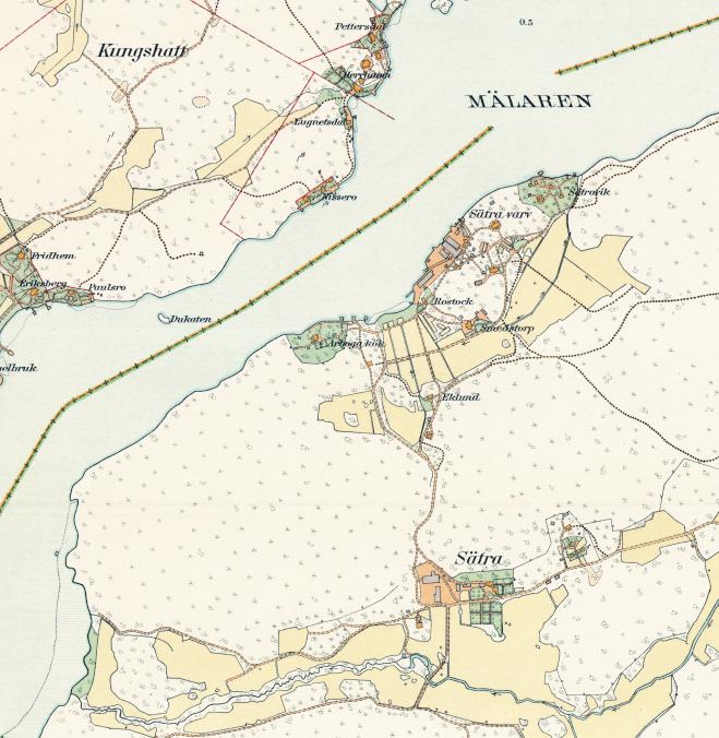 Stockholm med omnejd – Fridhem – 1917–1922