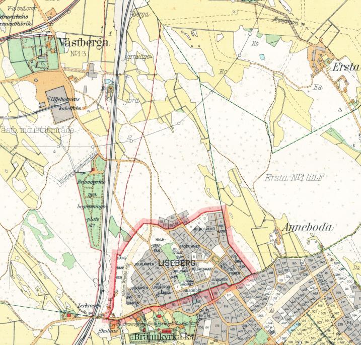 Stockholm med omnejd – Enskede – 1917–1922