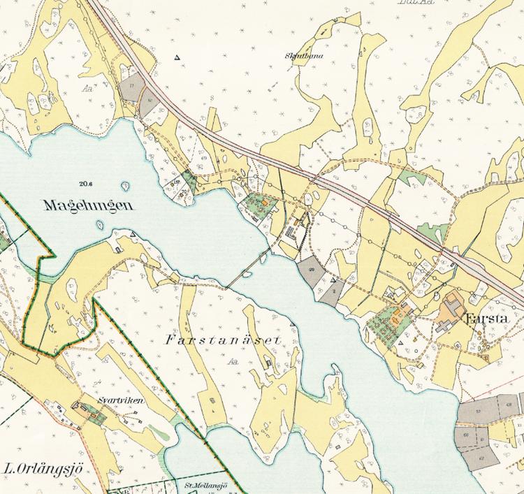 Stockholm med omnejd – Södertörns villastad – 1917–1922