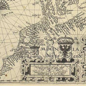 Karta – Skandinavien, Tabula Hydrographica – 1610