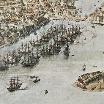 Bildkonst – Stockholm, panorama – 1868