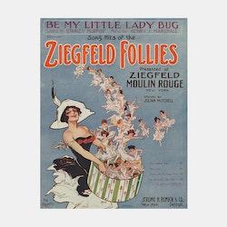 Poster – Ziegfeld Follies, Moulin Rouge – 1912